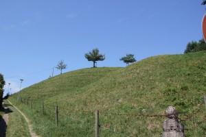 Pfad zur Burgruine Neuravensburg