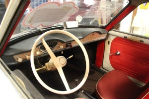 50er Jahre Autocockpit