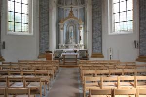 Altar Stefansfeld Kapelle Salem