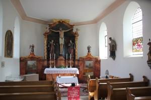 Barocker Altar Kreuzkapelle Bad Saulgau