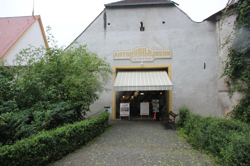 Eingang Automuseum Wolfegg