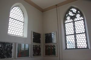 Gotische Fenster Kreuzkapelle Bad Saulgau