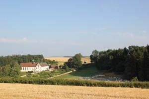 Kloster Habsthal mit Gaensen