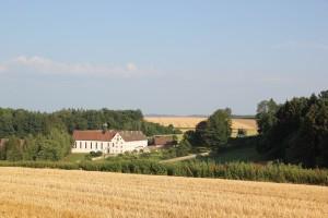 Klosterareal mit Kapelle Habsthal