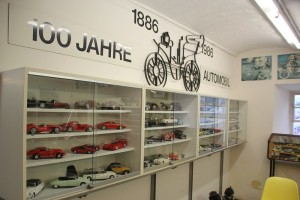 Modellautos AAutomuseum Wolfegg