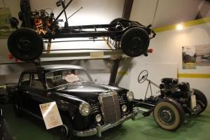 Oldtimer Mercedes-Benz Konstruktionen