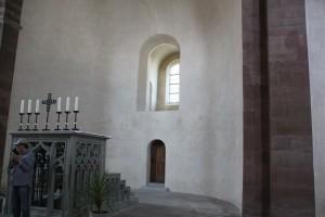 Altar Apsis Marienmuenster Kloster Reichenau