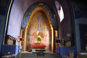 Apsis Kirche Baienfurt