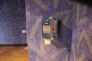 Bezahlsystem Lichtinstallation