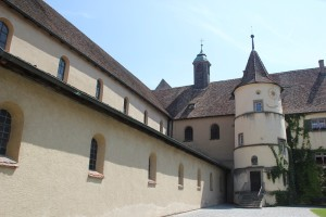 Langhaus Konviktgebaeude Kloster Reichenau