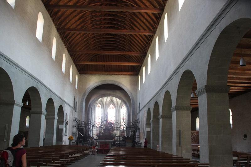 Mariamuenster Innen Kloster Reichenau