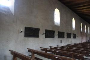 Romanische Rundboegen Kloster Reichenau