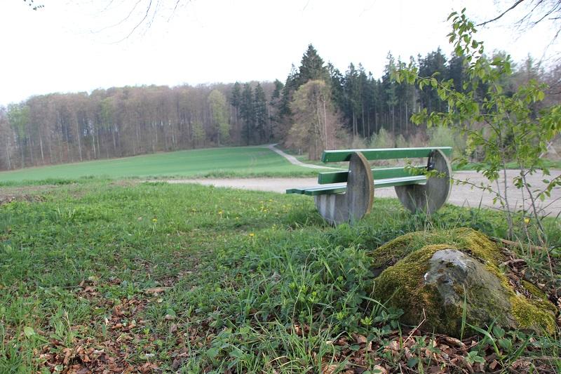 Sitzbank Heiligenberger Wanderweg