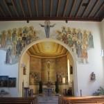 Apsis Kirche Ellwagen