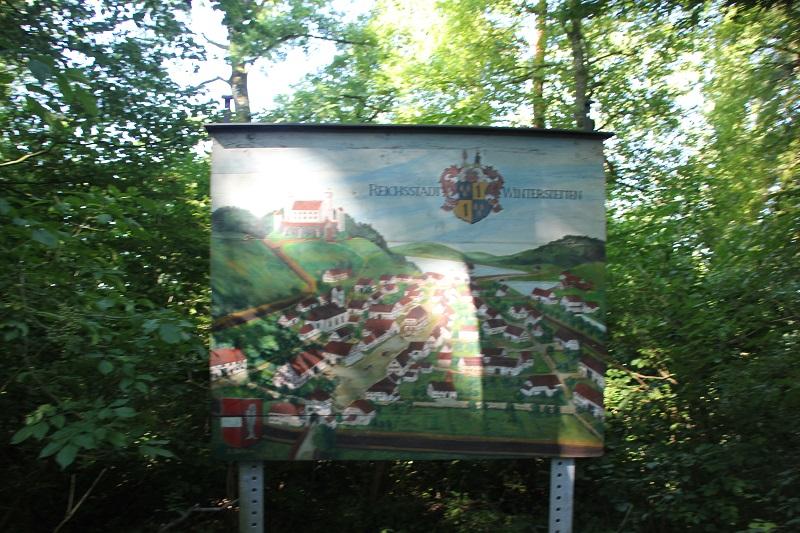 Darstellung Schenkenburg Winterstettenstadt