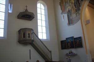 Kanzel Kirche Ellwagen