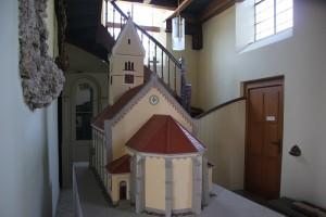 Kirchenmodell Kirche Ellwagen