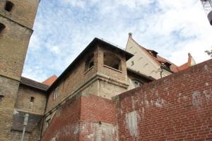 Seitengebaeude Metzgerturm Ulm