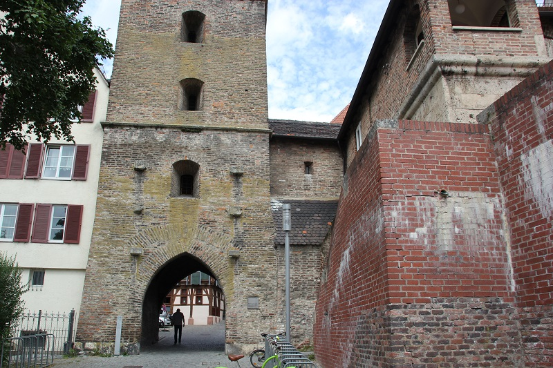 Tordurchgang Metzgerturm Ulm