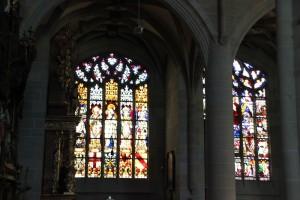 Bunte Fenster Muenster Ueberlingen