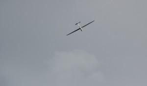 Segelflieger in der Luft