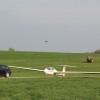 Segelflugzeug Landebahn Heiligenberg