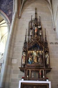 spaetgotischer Altar