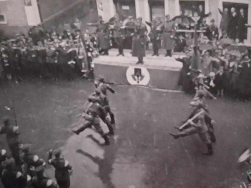 Nazi-Aufmarsch Reichsarbeitsdienst Bad Waldsee