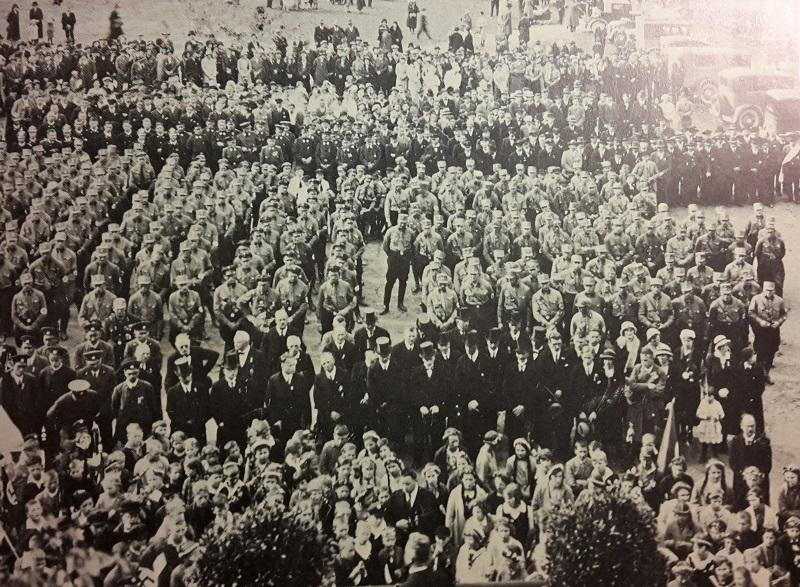 Naziversammlung Bleiche Bad Waldsee zum 1 Mai