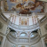 Barocker Treppenaufgang Schloss Bad Wurzach