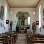 Barockes Innenleben Kirche Willerazhofen