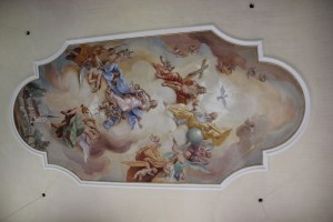 Deckenmalerei Willerazhofen