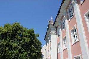 Fassade Neues Schloss Meersburg