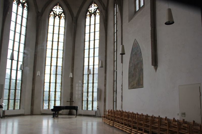 Innen Dreifaltigkeitskirche Ulm
