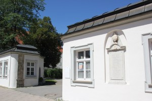 Schloss Eingang Bad Wurzach