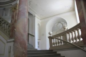 Treppenaufgang Schloss Bad Wurzach