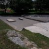 Viertelspipe und Rampen Emerica-Skatepark in Ravensburg