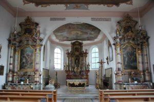 Altar St Johannes Evangelist Kirche Michelwinnaden