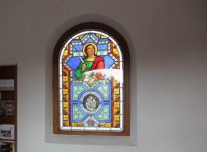 Buntes Kirchenfenster Michelwinnaden