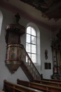 Kanzel Kirche Michelwinnaden
