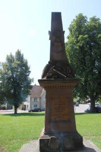Ergat Denkmal Krieg 1871