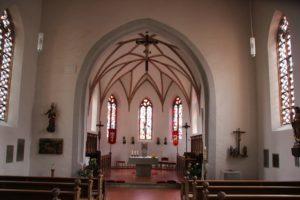 Kirche Alberweiler Innen