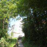 Treppe zum Schloss Achberg