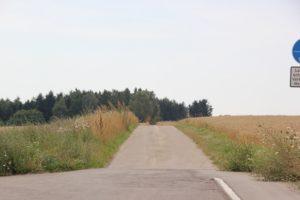 Weg zur Dietenburg bei Riedlingen