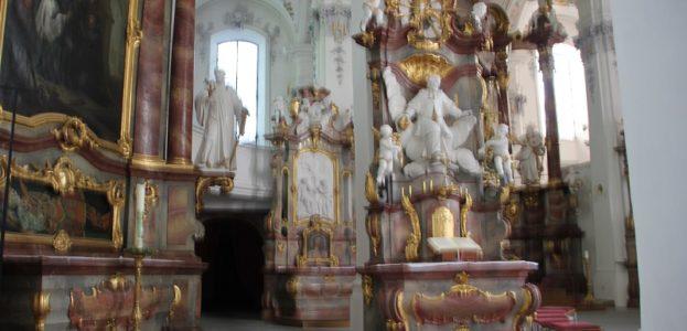 Apsis Kirche St Georg Jakobus Isny