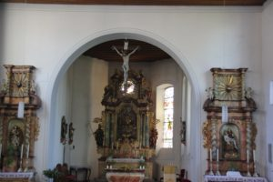 Barocker Altar Kirche Ludwigshafen