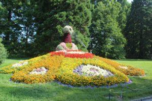 Blumen Figur Insel Mainau