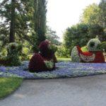 Blumenfiguren Insel Mainau