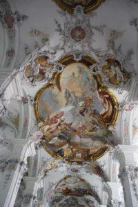 Decke Kirche St Georg in Isny