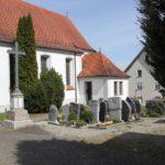 Langhaus und Friedhof St Johannes Baptiste Duernau